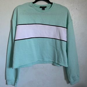 Forever 21 Blue and White colored sweatshirt